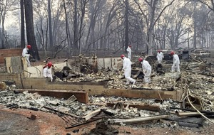 At least 63 killed and more than 600 missing after California wildfire