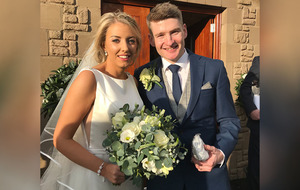 Bryansford and Down star Conor Maginn ties knot