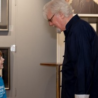 Parkinson's fundraiser aged seven meets hero Sir Billy Connolly