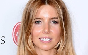 Strictly's Stacey Dooley descends from ceiling on giant stick of Blackpool rock