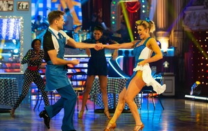 Strictly's Ashley Roberts and Pasha Kovalev jive to perfect score in Blackpool