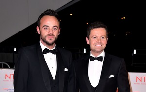 Dec sends message to Ant as he misses I'm A Celeb birthday