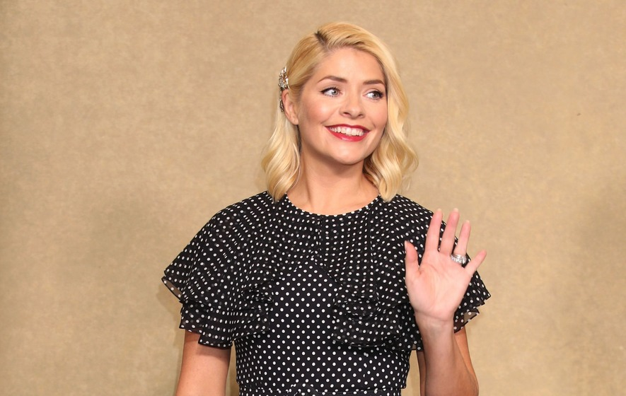 Holly Willoughby shines on her I'm a Celebrity debut