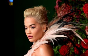 Rita Ora steals the show on theatre awards red carpet