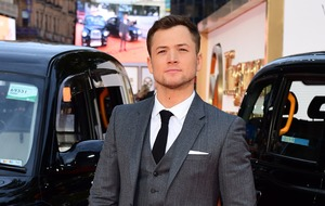 Good time to take step back from Kingsman, says Taron Egerton