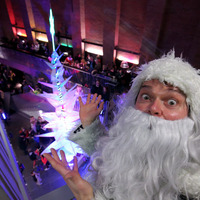 Family fun at the MAC's Christmas lights switch on