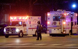 Two hospital workers and policeman killed after row at Chicago hospital erupts into deadly shooting
