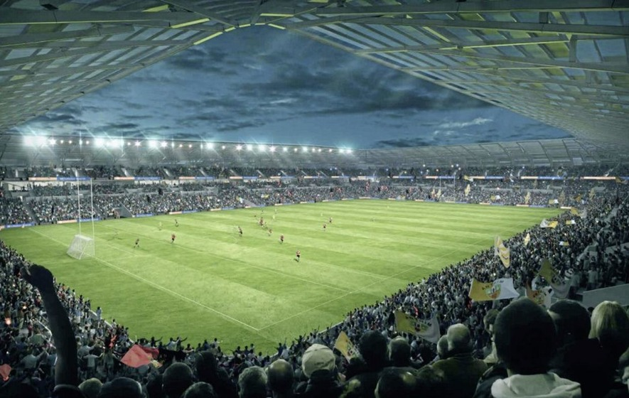 Antrim Gaels making their voices heard as planning decision nears on Casement Park proposal