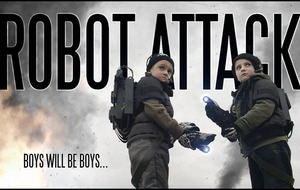 This dad made an amazing action film with his kids as the stars
