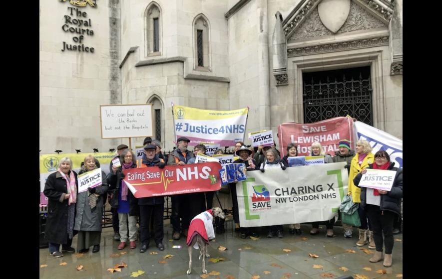NHS campaigners in court to appeal fixed payment system for services