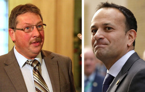 Sammy Wilson 'gets desperate' after accusing Leo Varadkar of 'Brit-bashing'