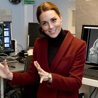Kate shows 'extraordinary' interest in psychology during university visit