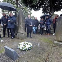 GAA marks grave of Croke Park Bloody Sunday's teen victim