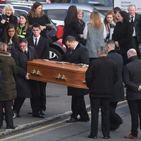 Funeral takes place of Niall Lyttle who died after fall from Belfast 'party bike'