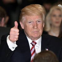 This Thanksgiving, Donald Trump gives thanks for himself