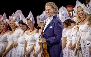 André Rieu brings the magic of the violin to Ireland this Christmas