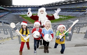 Festive fun at the home of GAA with Croke Park's Elves in Training Santa Experience