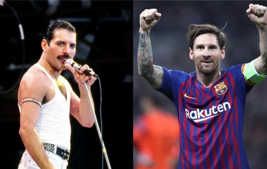 Leeeeeeeeoooooooo  Barcelona share unique tribute to Freddie Mercury ... 3c628ece6