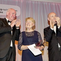 Lifetime achievement award bestowed upon Pat Hume - a 'perpetual tonic' during Troubles