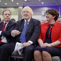 DUP leader refuses to deny party involved in secret 'plan B' Brexit negotiations with several British government ministers