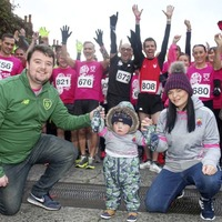 Brave Dáithí inspires runners in west Belfast 10k race to raise awareness for organ donation