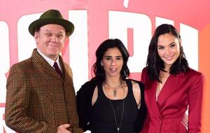 Sarah Silverman and John C Reilly at Wreck It Ralph 2 premiere