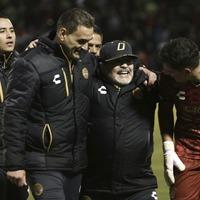 Maradona busts out dance moves as Dorados de Sinaloa reach play-off final