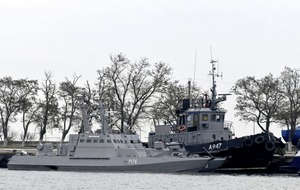 Ukraine declares martial law after Russia seizes ships