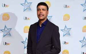 Football pundit Chris Kamara hangs out with Hollywood star Channing Tatum