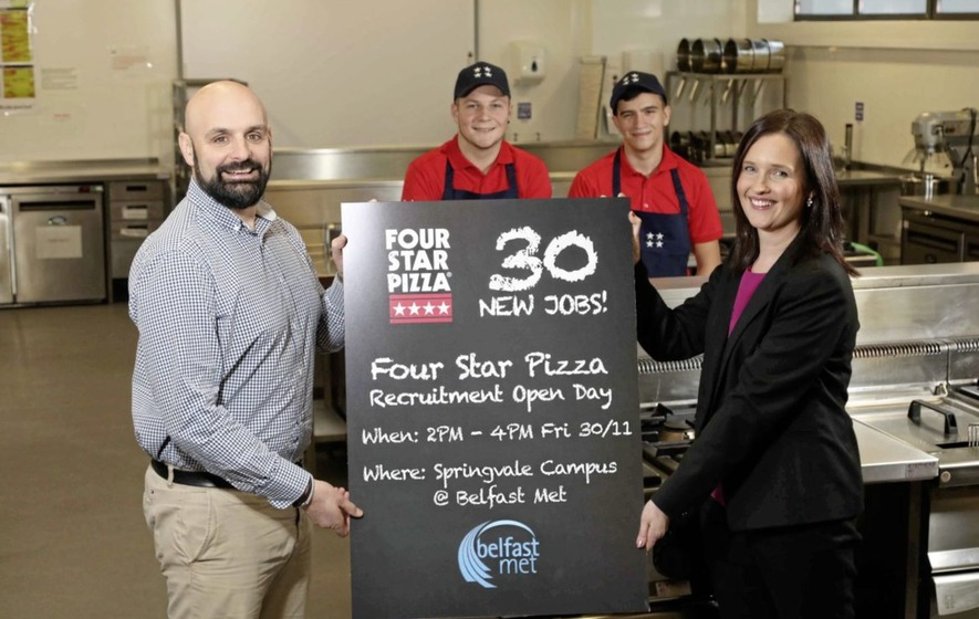 Four Star Pizza To Recruit 30 New Staff In The North The