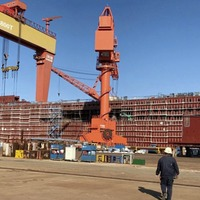 Two new Belfast to Liverpool ships under construction in China