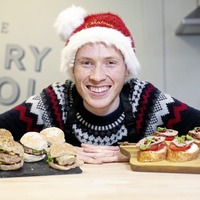 Great British Bake Off finalist Andrew Smyth shares two Christmas canapé recipes