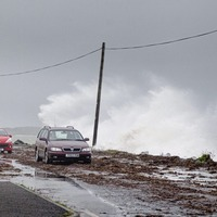 Power cuts as storm sweeps across north