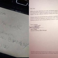 Little boy's letter to dad 'in heaven' receives touching reply from Royal Mail