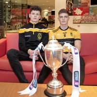 St Enda's players Joe Maskey and James McAuley looks ahead to Ulster Intermediate Championship final against Cavan champions Mullahoran