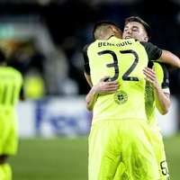 Celtic beat Rosenborg to move to within a point of Europa League knock-out stages