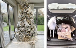 Sleb Safari: Celebrity Christmas decorations are always extra