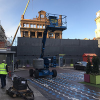 Primark walkway opens to reconnect Belfast city centre after fire