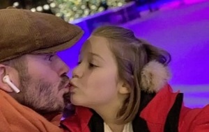 Leona O'Neill: If you think a dad kissing his child on the lips is 'weird' it's you that has the problem
