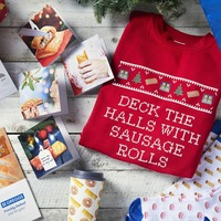 You can now buy a Greggs Christmas jumper and sausage roll phone case