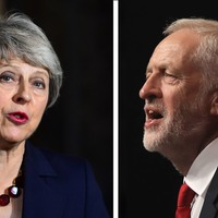 May and Corbyn in blame game as prospect of Brexit TV debate recedes