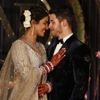 Priyanka Chopra's 75ft veil stole the show at her wedding to Nick Jonas