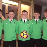 St Malachy's College students using the power of sport to break down barriers
