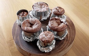 James Street Cookery School: Flourless orange and chocolate cakes, vegan madeleines