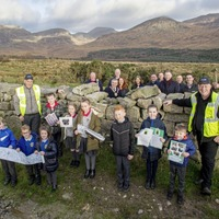 Time capsule buried in Mourne Wall to mark completion of current phase of restoration work