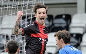 Crusaders midfielder Declan Caddell feeling the benefits of full-time football