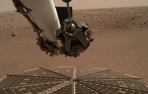 Nasa lander captures first sounds of Martian wind
