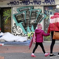 Increase of 220 per cent in rough sleepers on Belfast streets