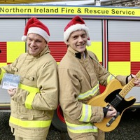 Local Firefighters aim for chart success with charity Christmas single