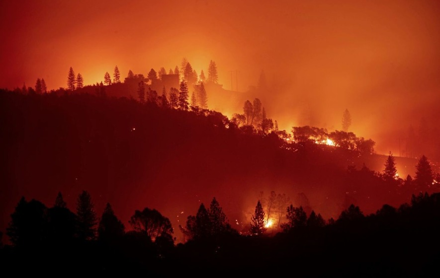 California's most destructive fire on record happened last month